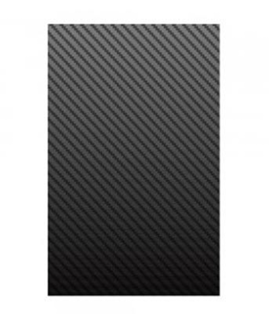 ClearPlex - Replacement Film: Black Carbon Fiber