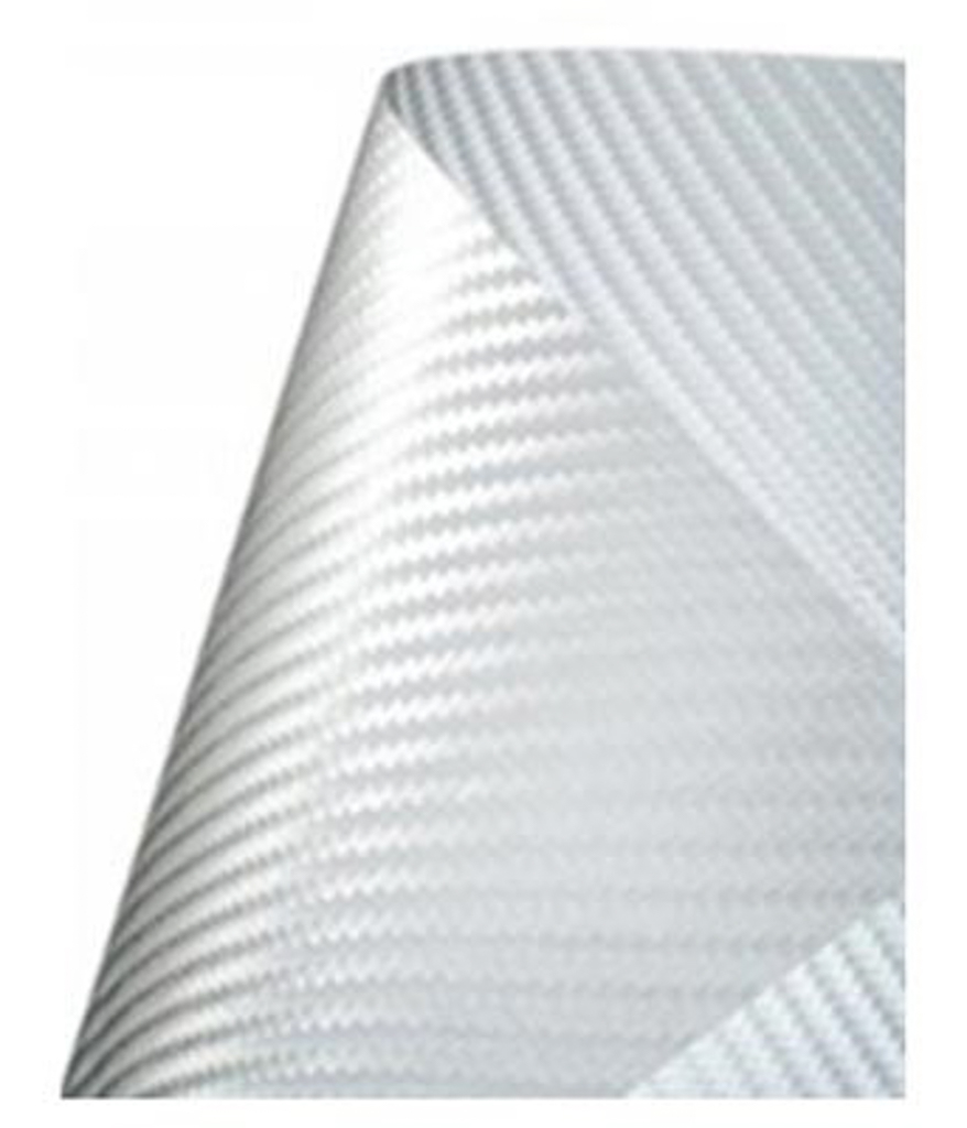 ClearPlex - Replacement Film: White Carbon Fiber