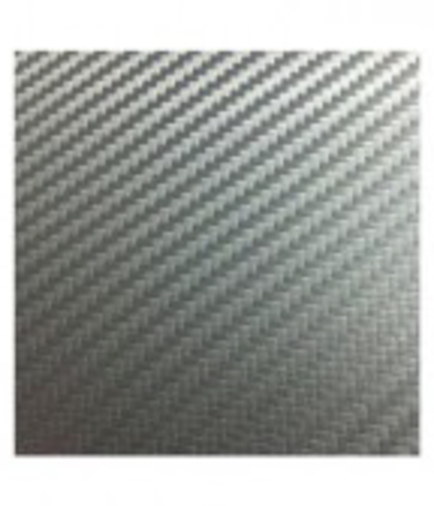 ClearPlex - Replacement Film: Silver Carbon Fiber