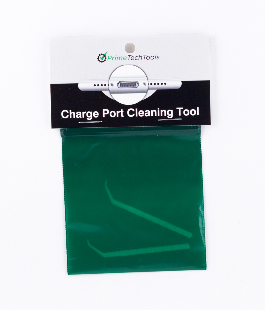 Charge Port Cleaning Tool Retail Packaged for Resale (5 Retail Packages)
