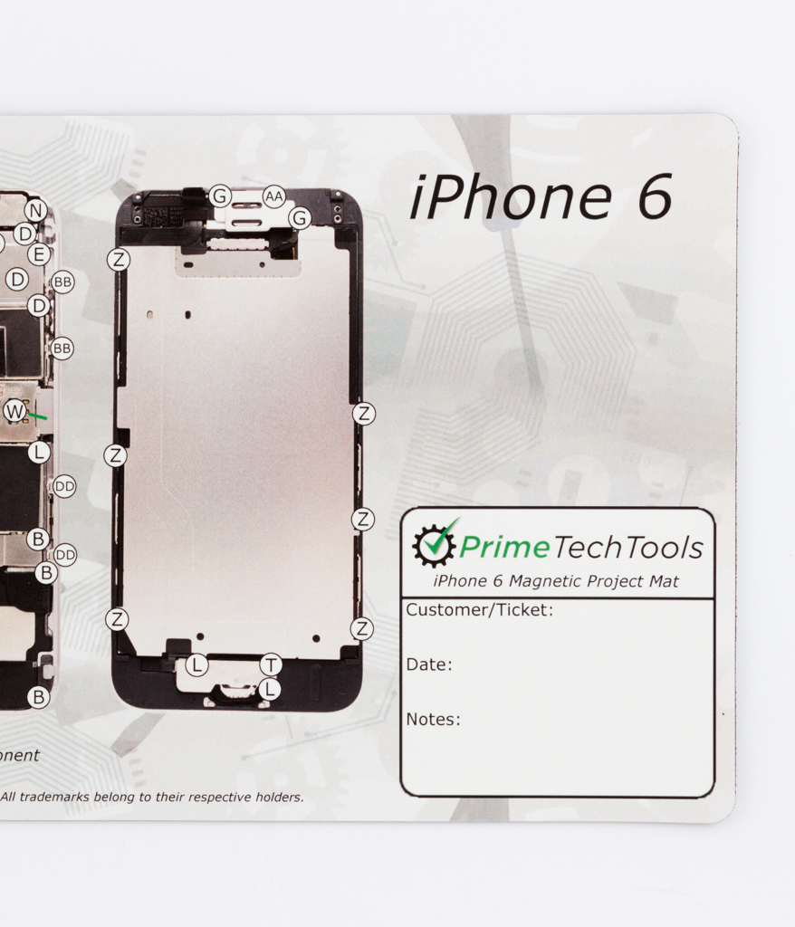 Prime iPhone Screw Pattern Magnetic Mat