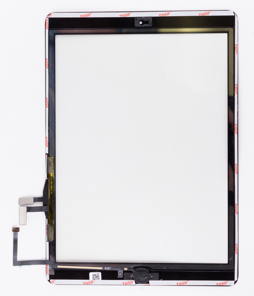 iPad Air Digitizer - Fully Ready w/ Tesa 61395 and Small Parts Installed