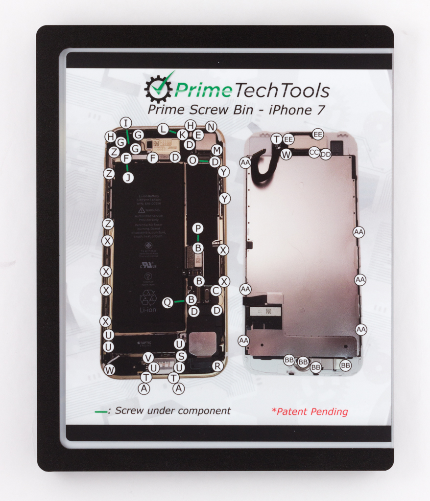 Prime Screw Bin - iPhone 7