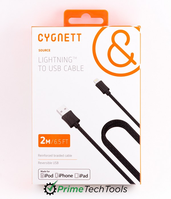 Cygnett Braided USB-to-Lightning Cable - 2m/6.5ft