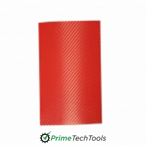ClearPlex - Replacement Film: Red Carbon Fiber