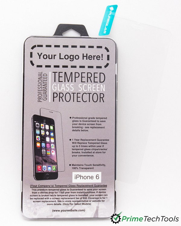 Tempered Glass Sales Kit - Custom with Your Logo