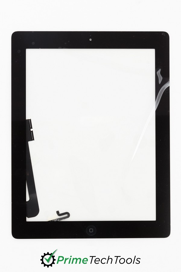 iPad 4 Digitizer - Fully Ready w/ Tesa 61395 and Small Parts Installed
